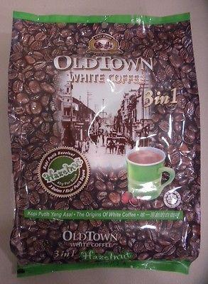 Ipoh Malaysia Oldtown White Coffee 3 In 1 Hazelnut