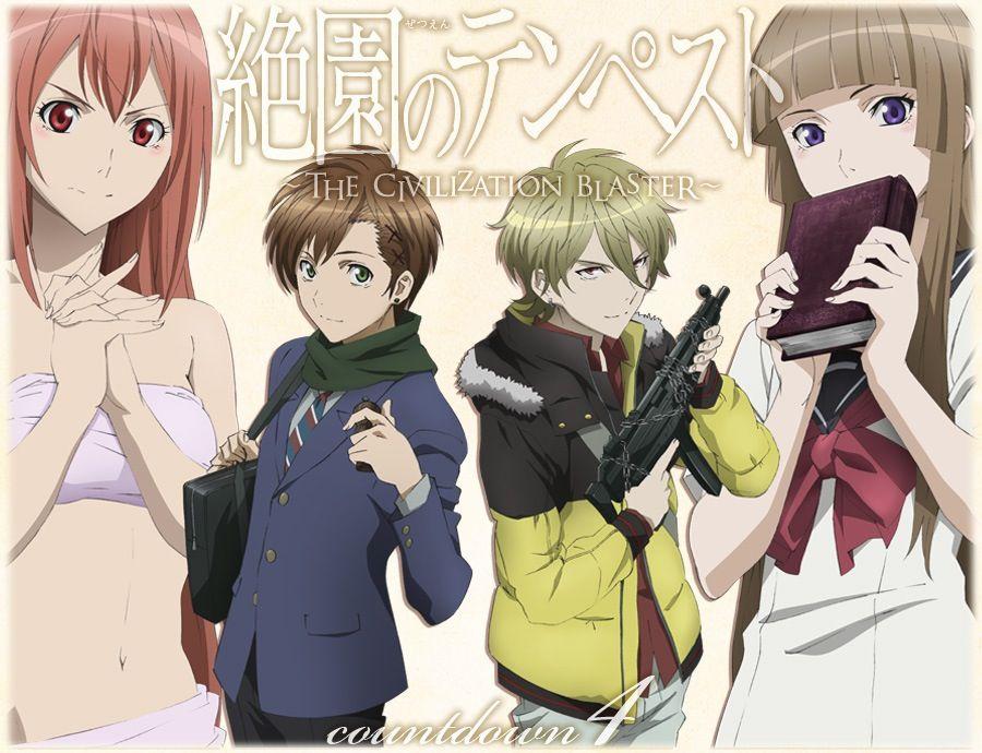 Pin by kotori kurosaki on zetsuen no tempest anime