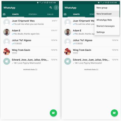 Cara Broadcast Di Whatsapp Ke Banyak Kontak