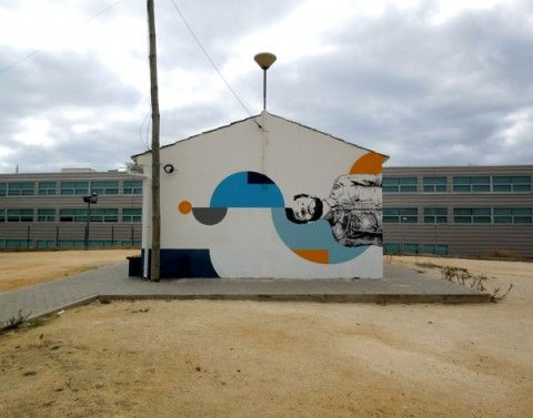 EIME - Petanca New Mural @ Lagos, Portugal