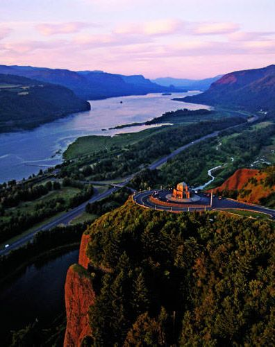 Columbia River Gorge,Oregon, Washington: