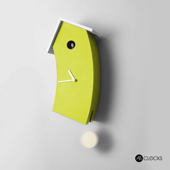 Bend Design Cuckoo Clock Cuckoo Clock Modern Cuckoo Clocks Modern Clock