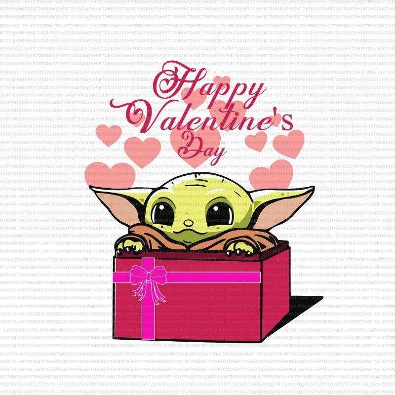 Baby Yoda Valentines Png Happy Valentine S Day Png Happy Valentine S Day Baby Yoda Png Happy Valentine S Day Baby Yoda Buy T Shirt Design Love Png Star Wars Baby Yoda Png