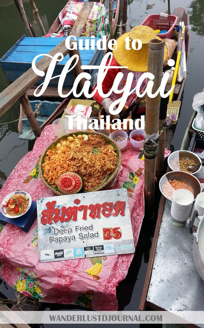 Visit Hatyai A City Of Thailand At The Malaysia Border Thailand Travel Hat Yai Stuff To Do