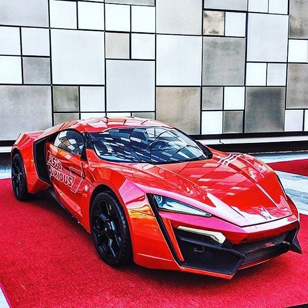 Red Car In Fast And Furious 7 The Car Database