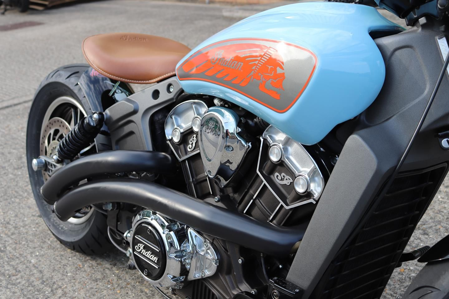 Custom Indian Motorcycle For Sale >> Custom Scout Bobber Indian Motorcycle By Moore Speed Racing