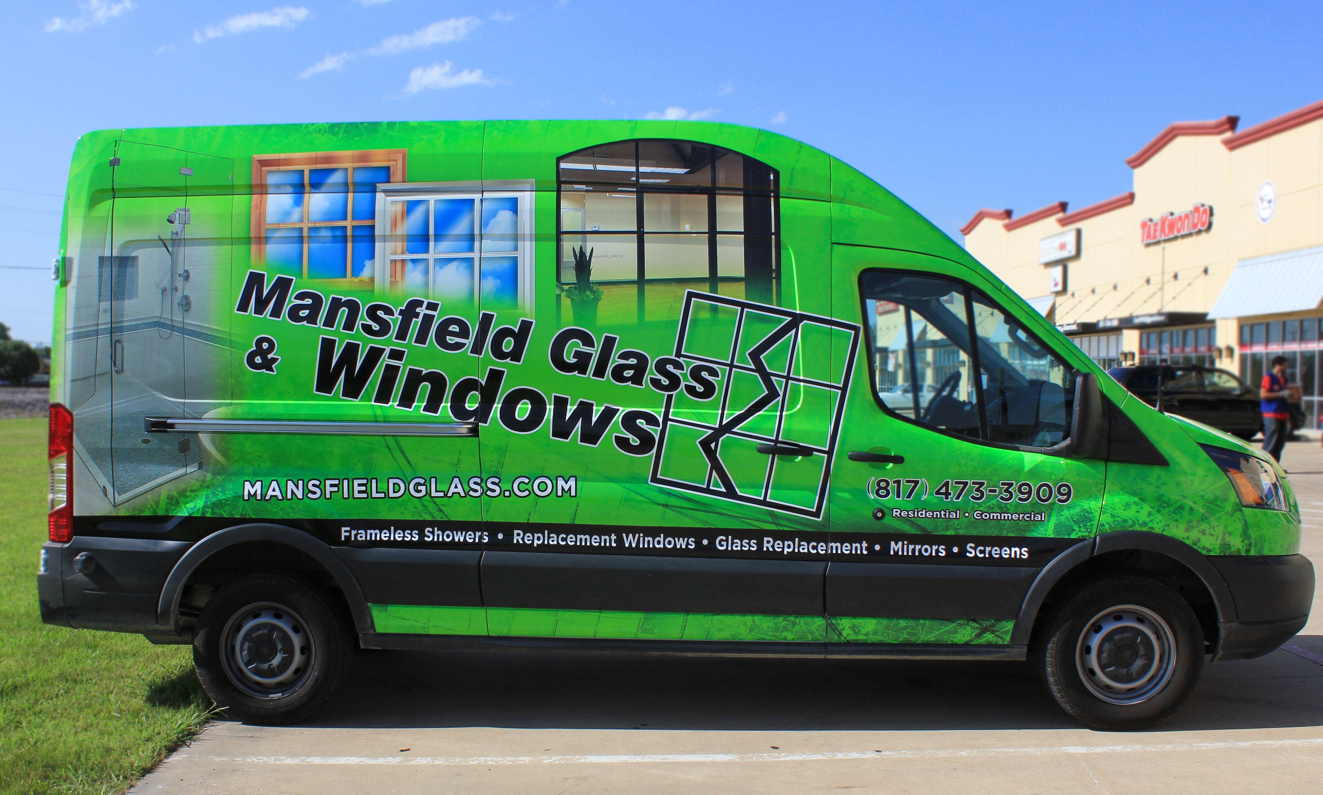 Glass and window ideas mansfield texas van wrap ideas