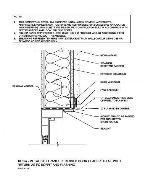 metal framing header detail. Plain Framing 10mm_MtlStud_RecessedStoreFront_Door_Head500x648jpg 500647  Construction  Details Pinterest Throughout Metal Framing Header Detail F