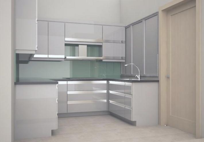 Desain Lemari Kabinet Untuk Dapur Minimalis
