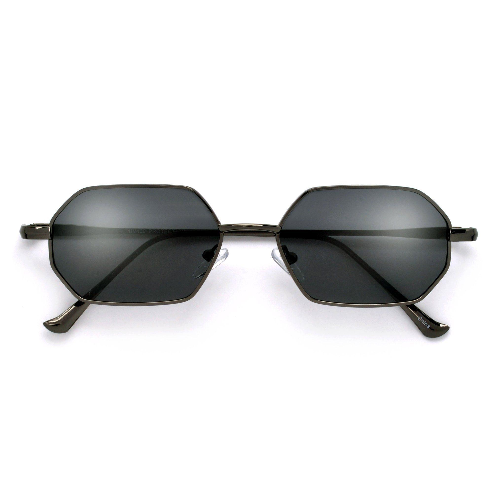 864400e7de Slim Retro Slender Octagonal Sunnies