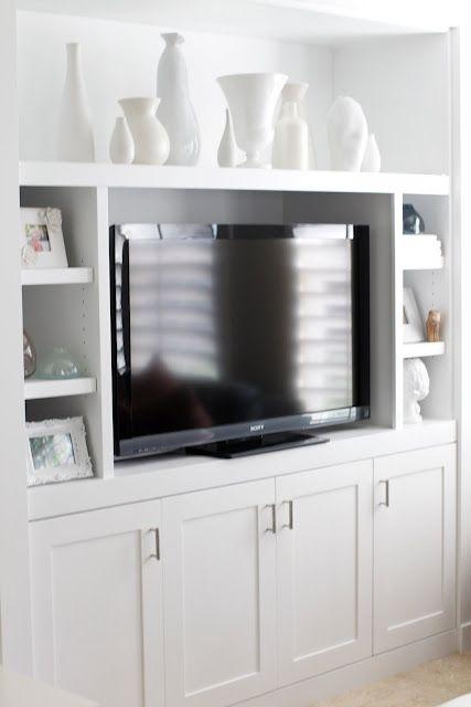 paint & reorganize tv center