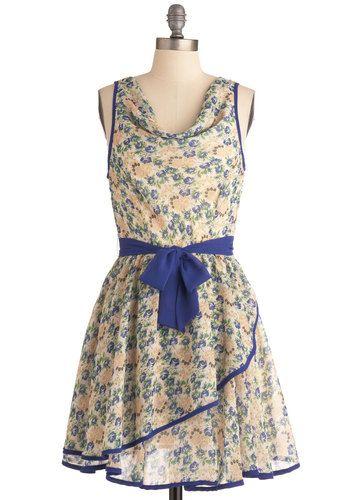 3ec31aeed151c Two for Teatime Dress   Mod Retro Vintage Dresses   ModCloth.com ...