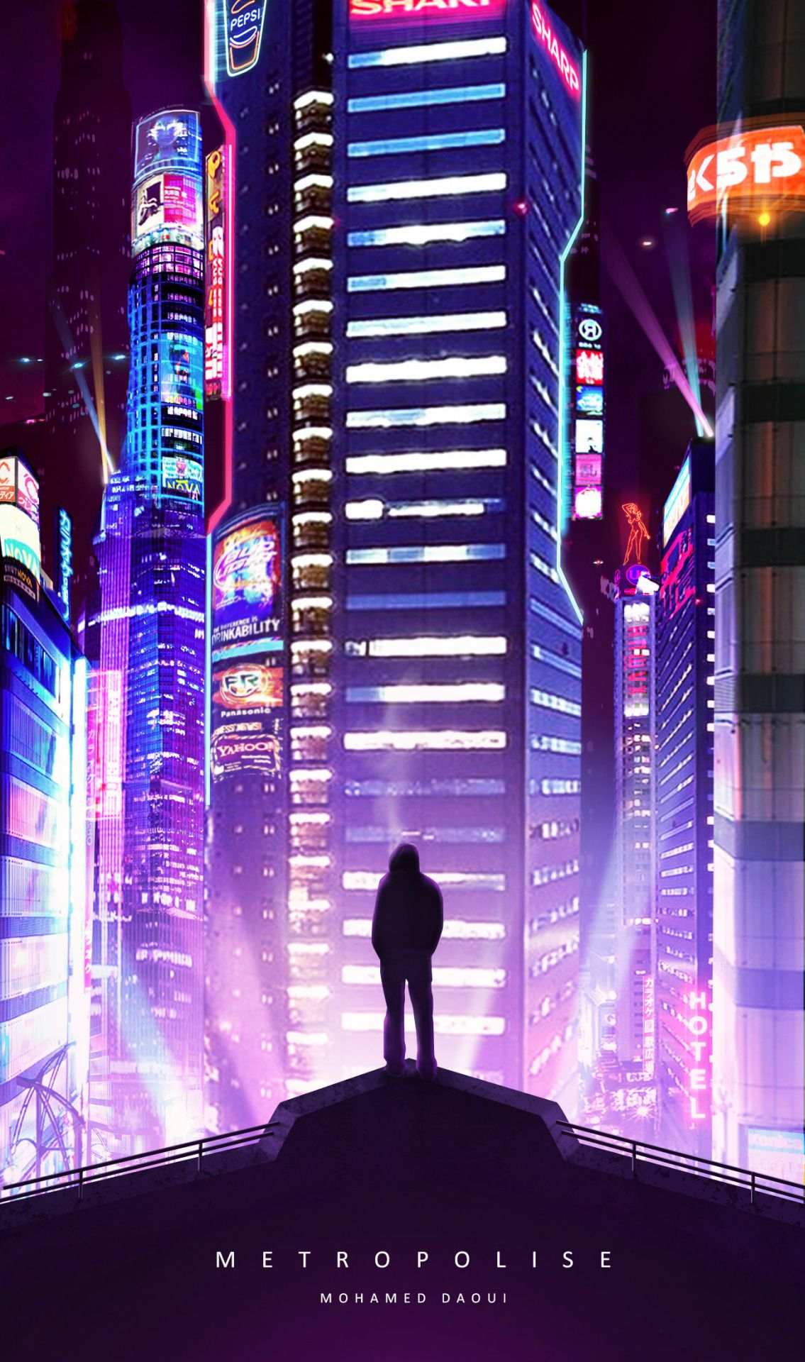 Fragments Of A Hologram Dystopia Cyberpunk Aesthetic