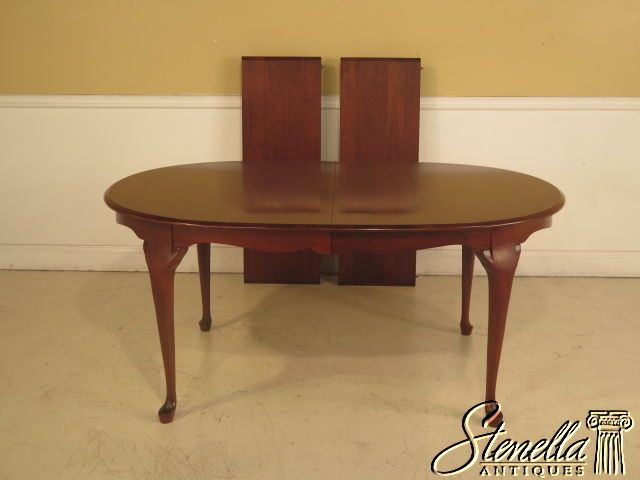 38992 Pennsylvania House Cherry Queen Anne Dining Room Table  My Custom Pennsylvania House Dining Room Set Design Ideas