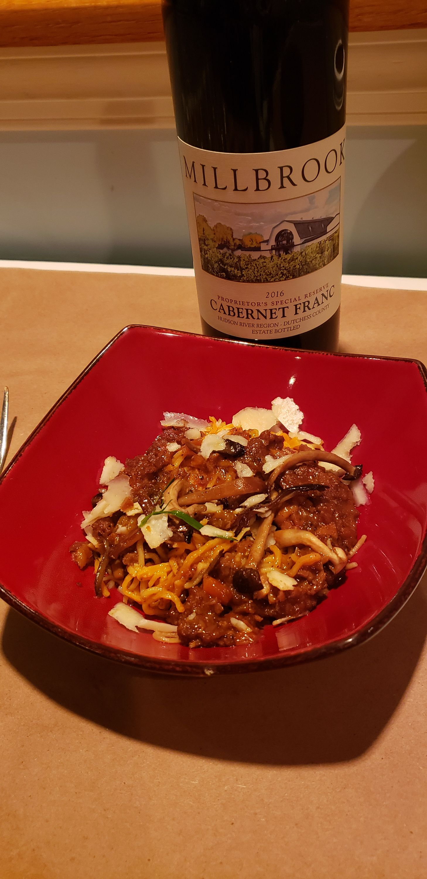 We Had A Great Wine Dinner Featuring Millbrook Vineyards And Winery Chef Gus Hit It Out Of The Ballpark With The P Wine Food Pairing Wine Dinner Braised Lamb