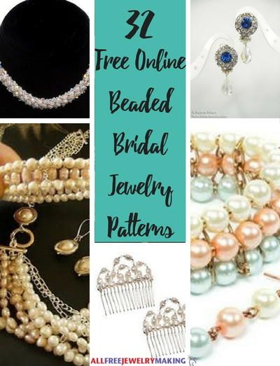 32 Free Online Beaded Bridal Jewelry Patterns Crafts Crochet Arm