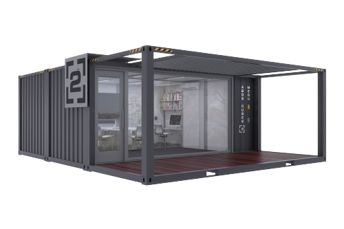 Double Wide Custom Mobile Offices Me Ou Casa Container Ideias De Loja Casa Contentor