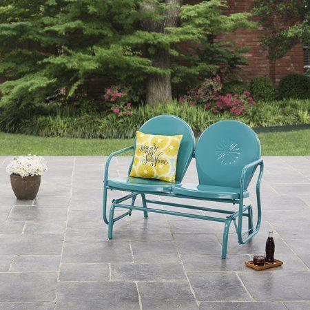 Pleasing Patio Garden In 2019 Outdoor Decor Outdoor Glider Andrewgaddart Wooden Chair Designs For Living Room Andrewgaddartcom