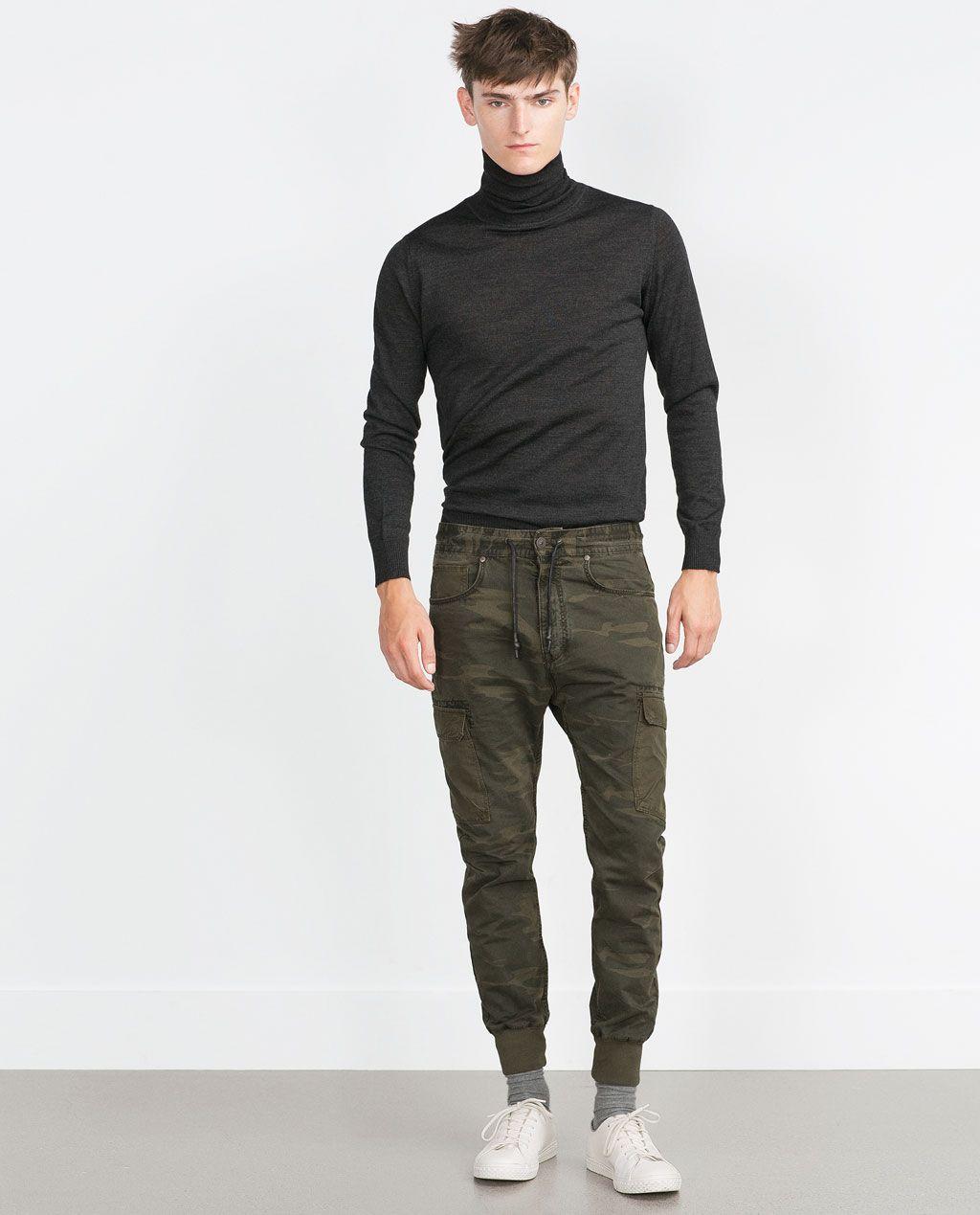 ZARA - MAN - CARGO TROUSERS | Pantalones, Zara hombre