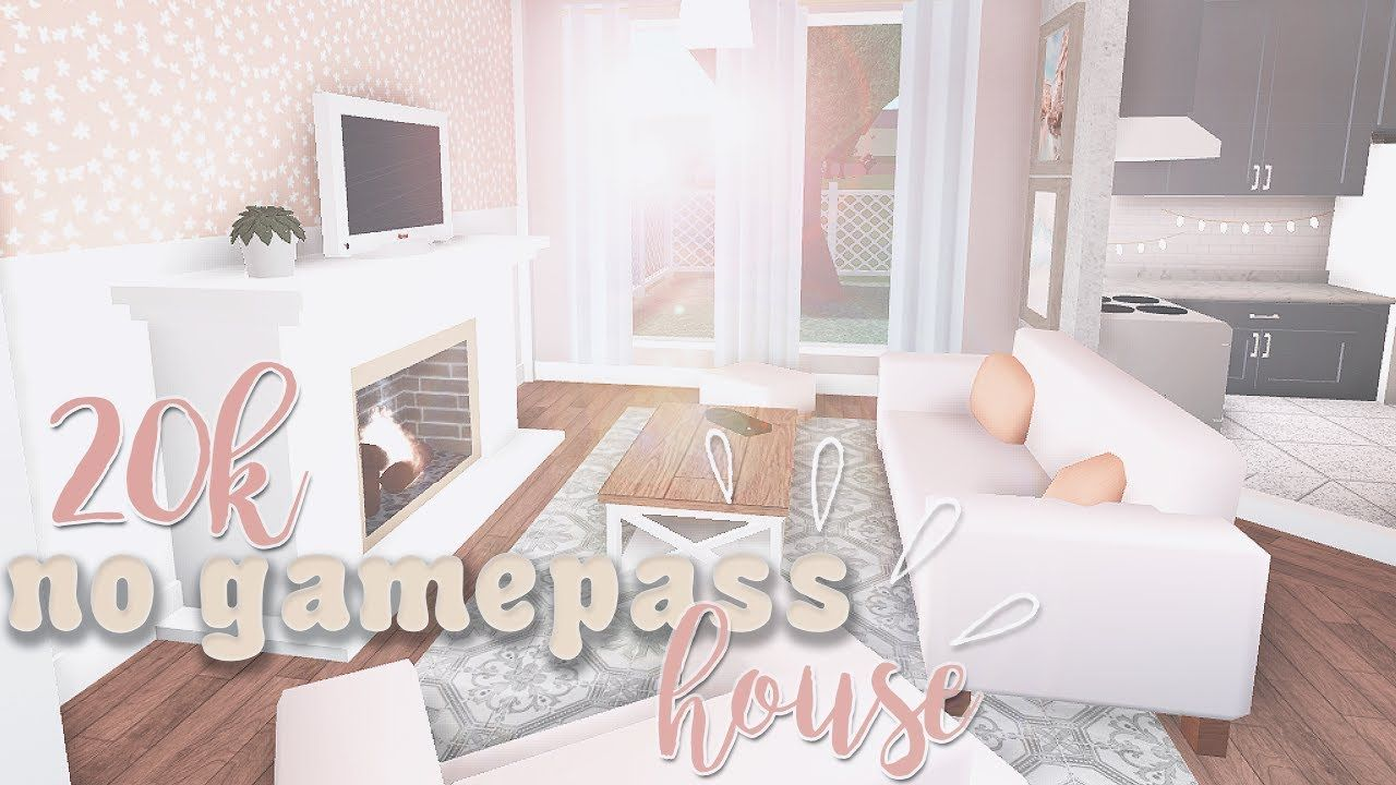 20k No Gamepass House Roblox Bloxburg Youtube Victoria House House Layouts Cute House