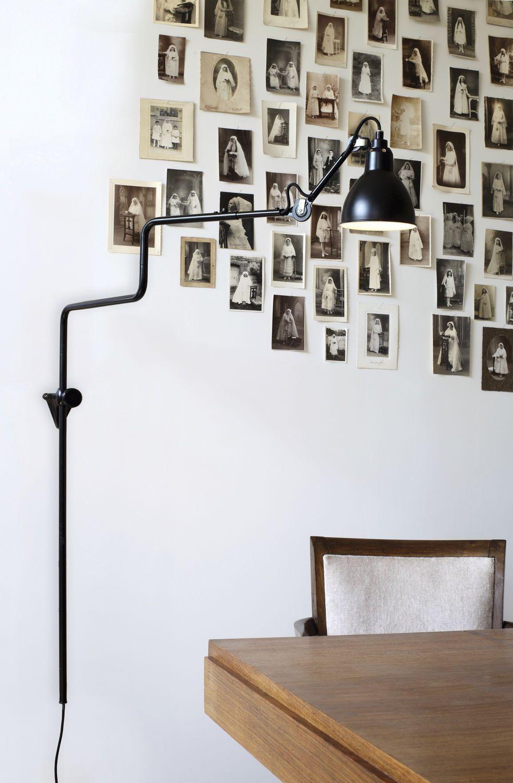 wandleuchte originelles design aus stahl fur. Black Bedroom Furniture Sets. Home Design Ideas