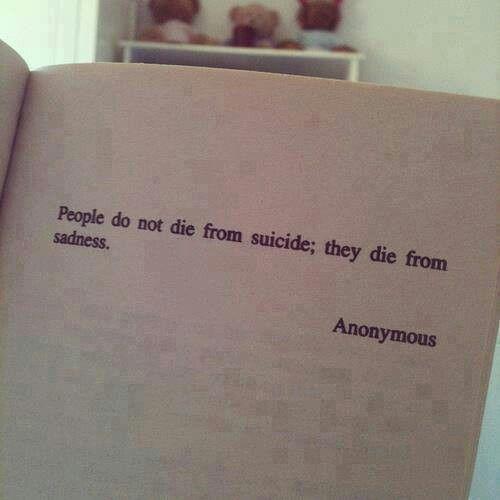So sad but true