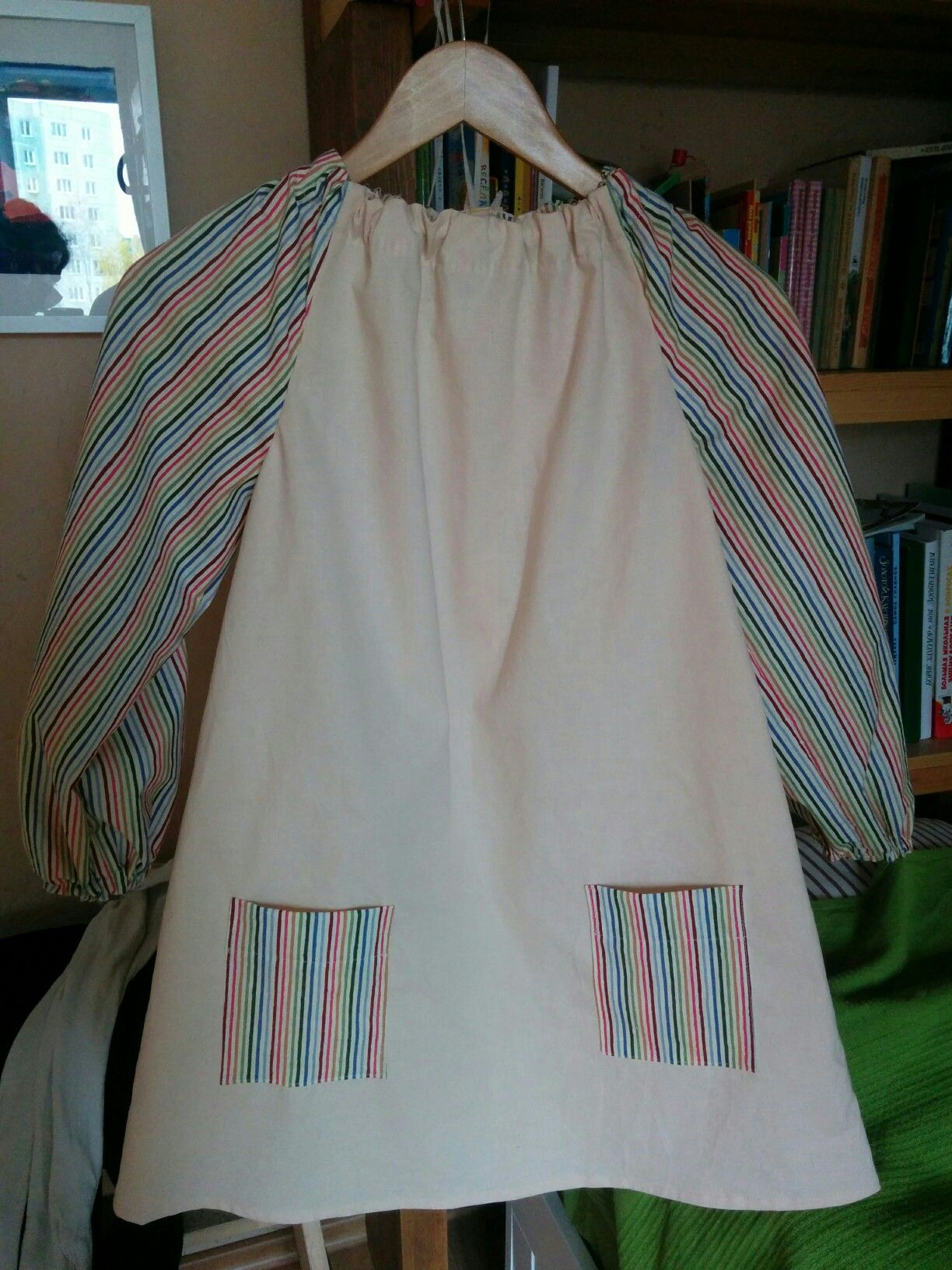 Art smock for my 7 year old daughter Inspired by Little Things to