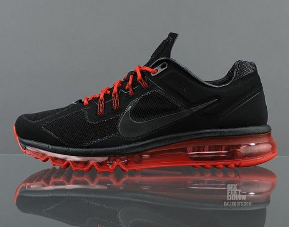Nike Air Max 2013 EXT Black Red Detailed Pictures