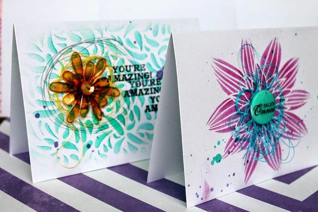 Terhi Koskinen: Bunch of cards!