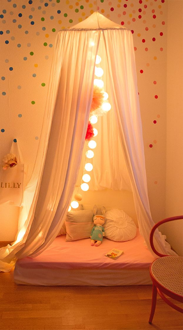 Drei schöne und günstige DIY Kinderzimmer Ideen: 1. Bunte ...