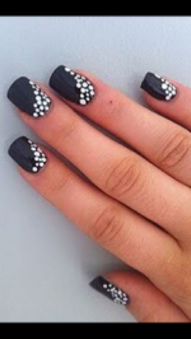 Pin By Peggy Newsome On Nails Dot Nail Designs Simple Nail Art