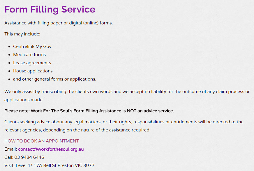 Click Image To Be Linked To Our Services Page Help Forms