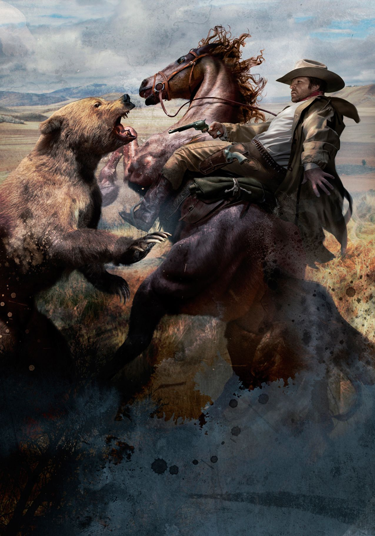 #Bear #Horse  Cliff Nielsen