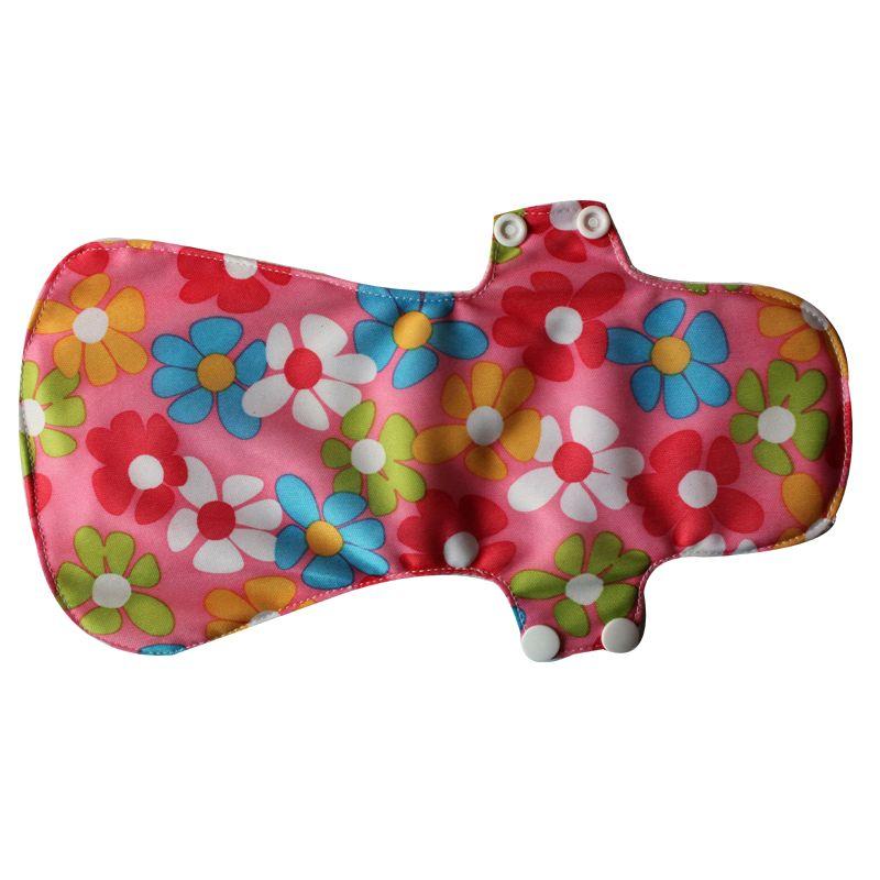 Heavy flow cloth menstrual pads night use bamboo sanitary