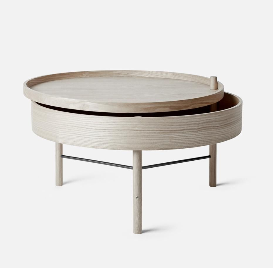 Menu Design Turning Table In 2021 Simple Side Tables Table Coffee Table [ 916 x 931 Pixel ]