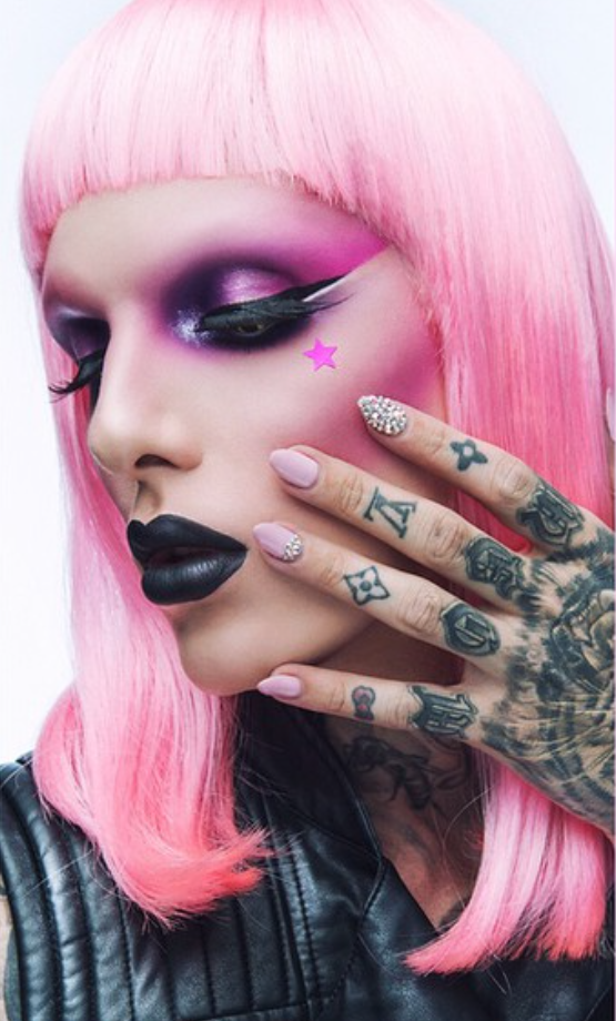 Jeffree Star Lime Crime Instagram: Lip Drama: Jeffree Star Cosmetics NEW Shade WEIRDO