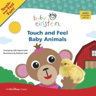 Touch and Feel Baby Animals. Babies will be introduced to the animals that are just like them-babies!