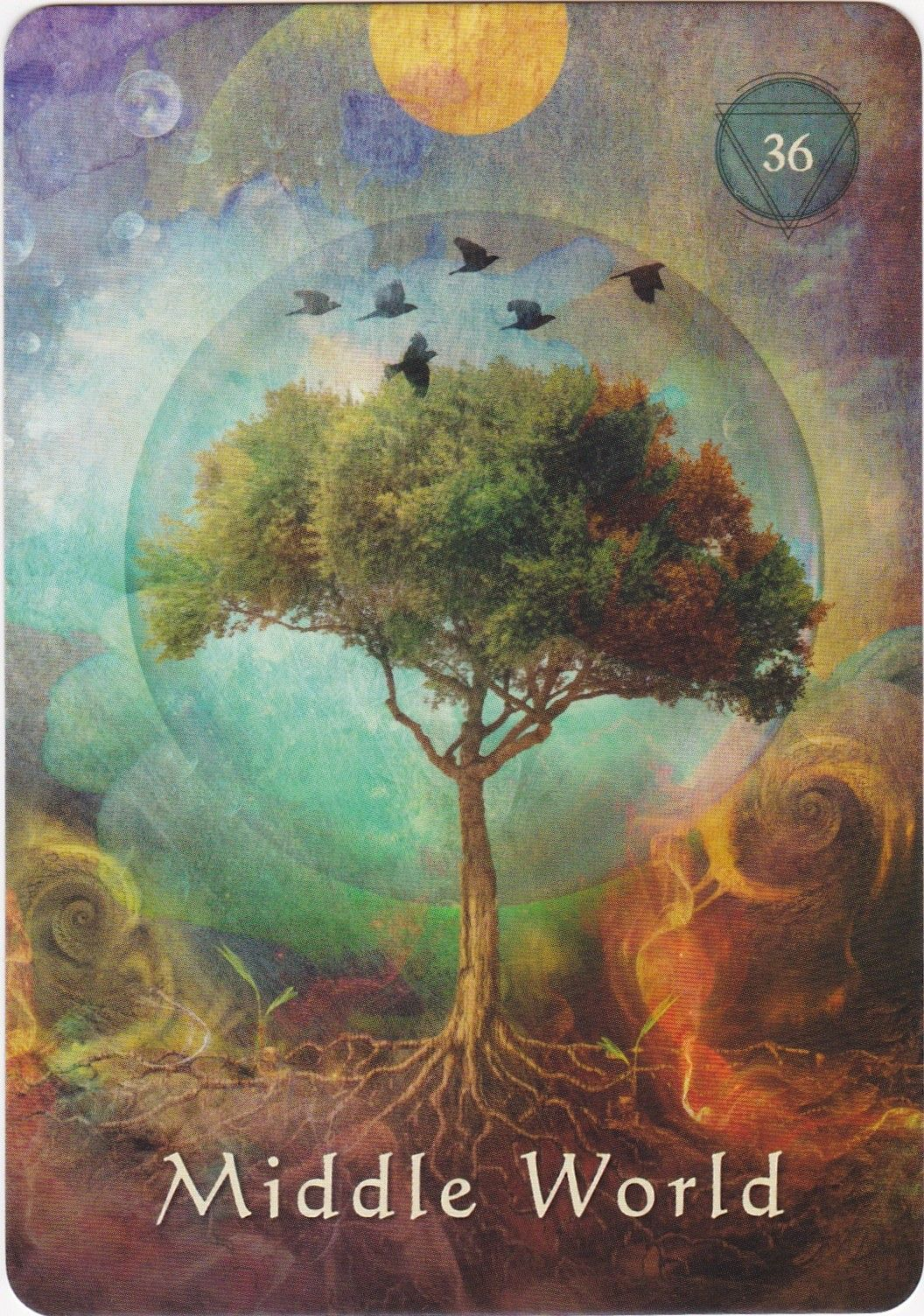 Mystical shaman oracle card deck by alberto villoldo