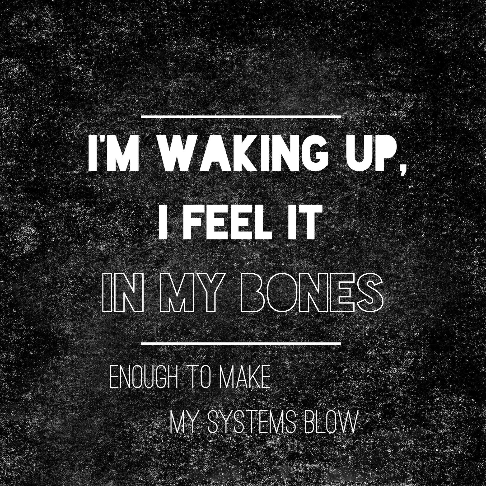 Radioactive by Imagine Dragons lyrics quote I made ...