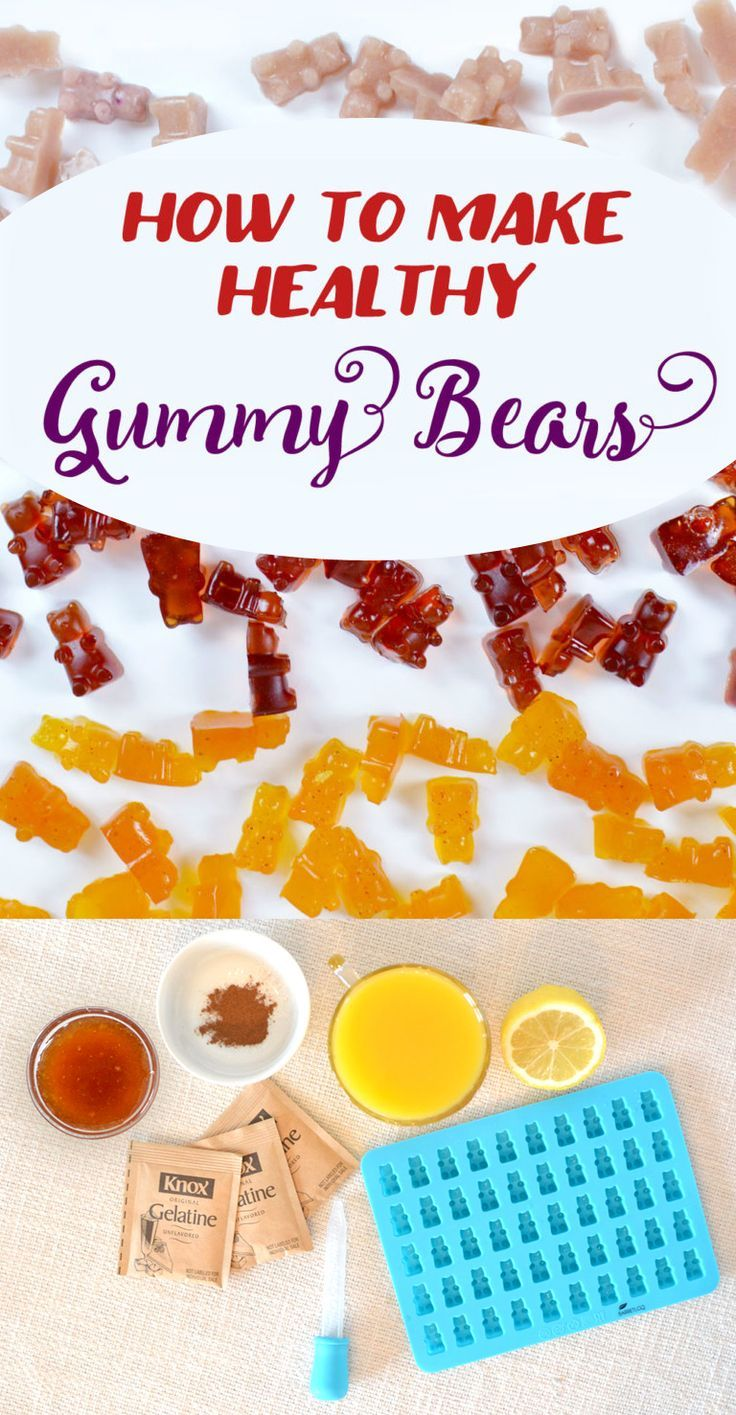 How to Make Healthy Gummy Bears