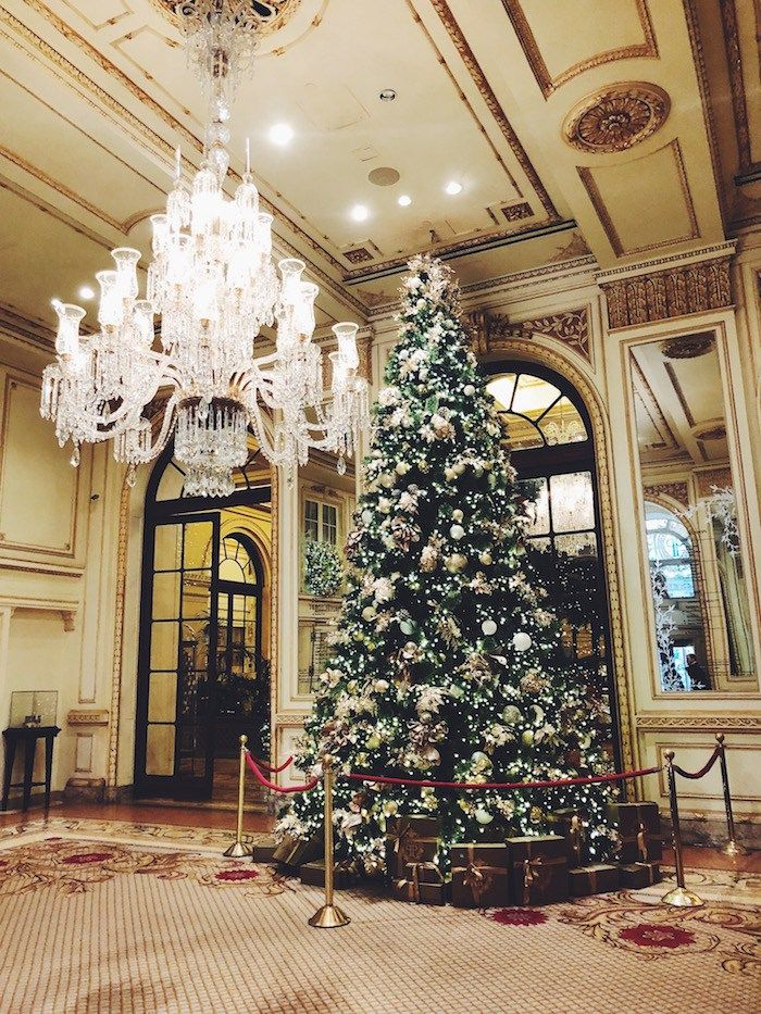 The Plaza Hotel Christmas Decorations 2020 What to do in New York City in the winter em 2020   Arvore de