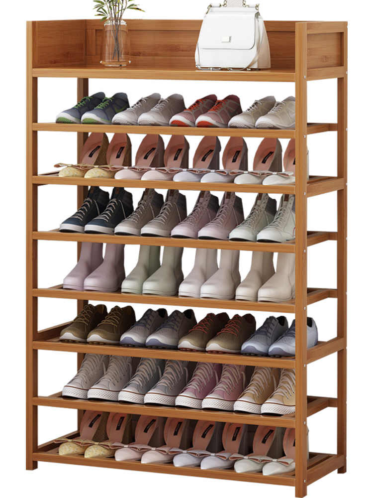 Simple Shoe Rack Storage Multi Function Home Shoes Cabinet Multi Layer Dustproof Economical Solid Wood Shoe Rack Aliexpress Wood Shoe Rack Diy Shoe Storage Wooden Shoe Rack Designs
