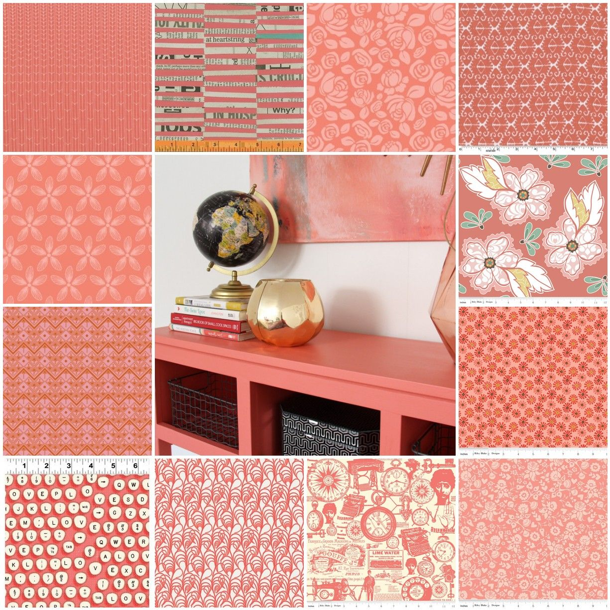 Coral Reef: Sherwin-Williams Color of the year 2015. draperies and ...