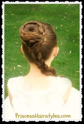 Hairstyles For Girls Hair Styles Braiding Princess Leia Hair Princess Leia Hair Tutorial Star Wars Hair