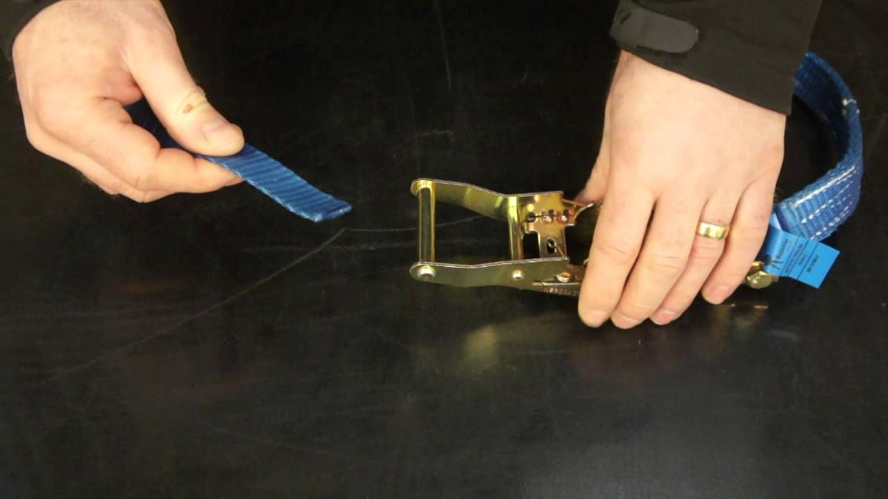 How To Use a Ratchet Strap Ratchet, Strap