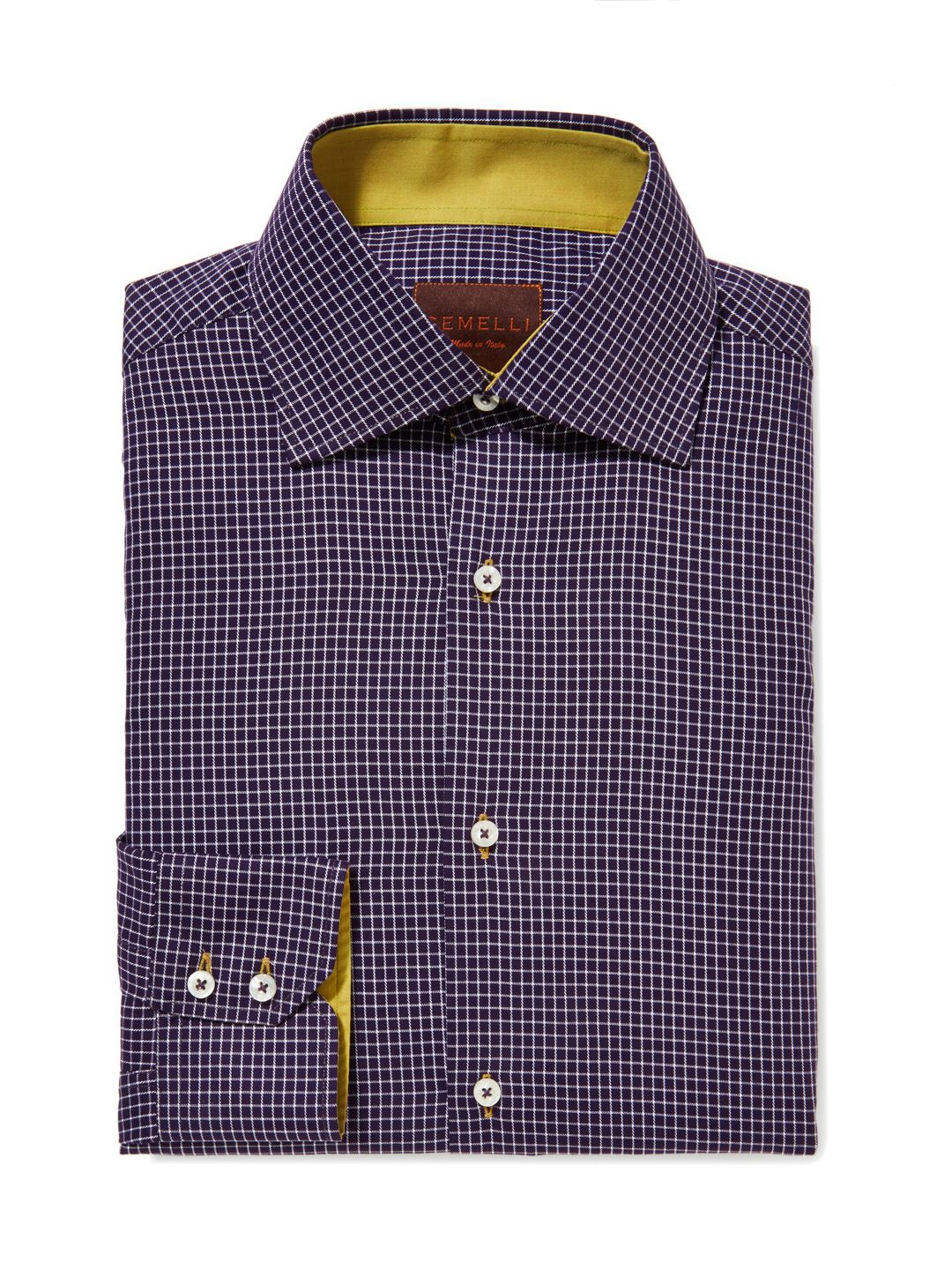 Checked Cotton Dress Shirt by GEMELLI at Gilt www.GemelliShop.com