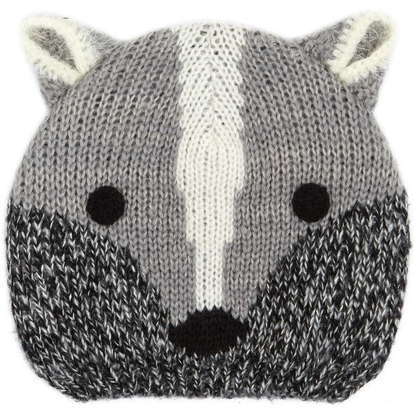 Accessorize Ricky Racoon Hat (775 RUB) ❤ liked on Polyvore featuring accessories and hats