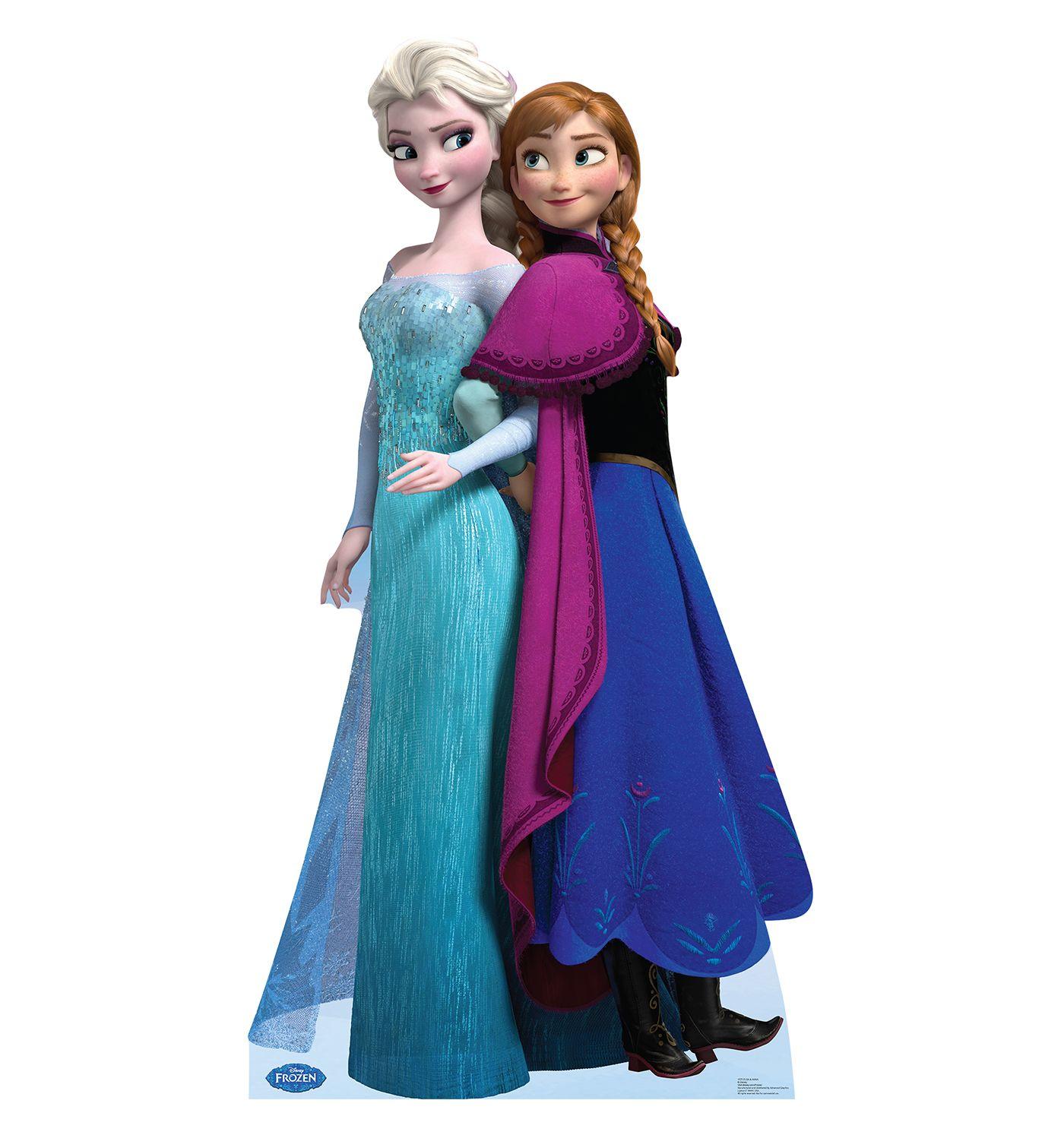 Elsa And Anna Disney S Frozen Cardboard Cutout 1575 Disney Frozen Party Elsa Frozen Elsa