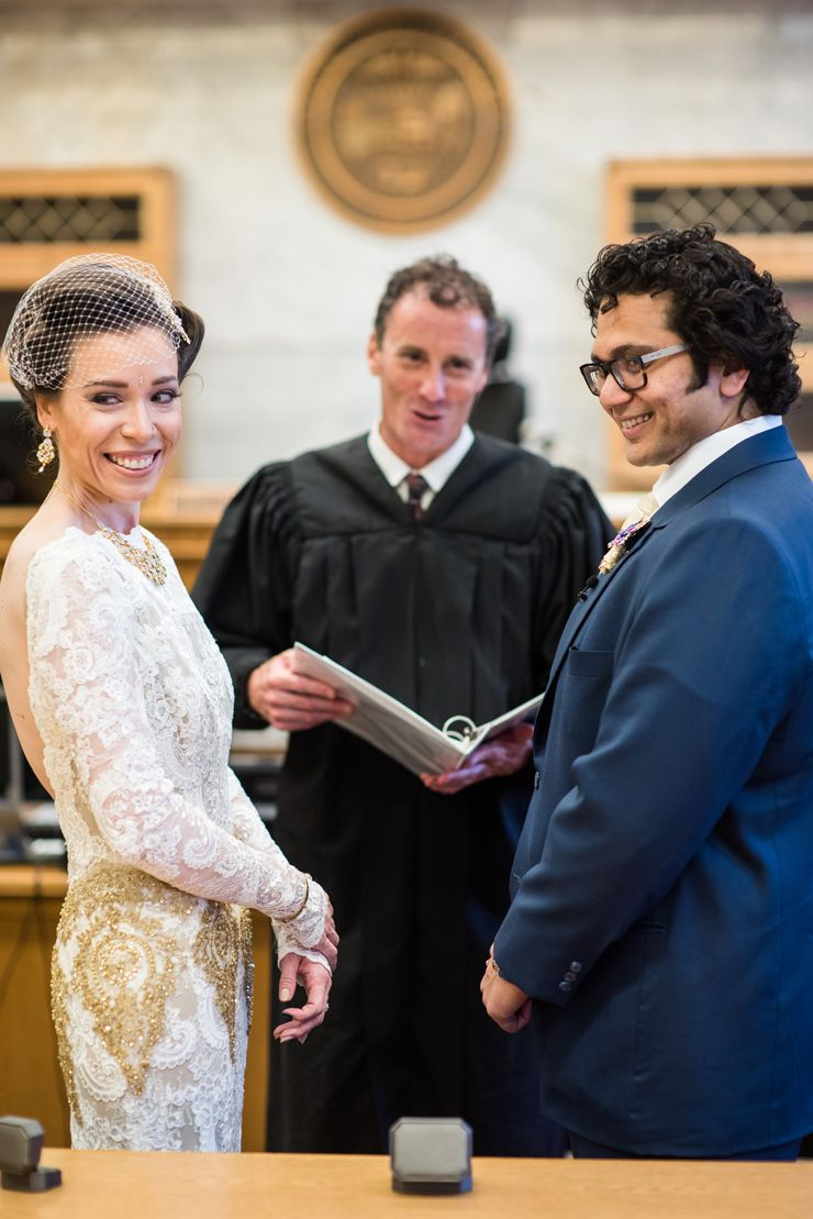 A civil wedding ceremony | itakeyou.co.uk