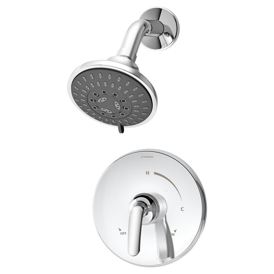 Symmons Elm Chrome 1-Handle Bathtub And Shower Faucet Trim Kit With ...